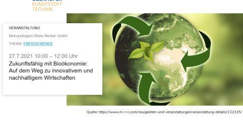 Bioökonomie-Ansätze im kunststoffverarbeitenden Betrieb